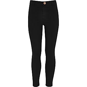 Molly – Schwarze Jeans-Jeggings