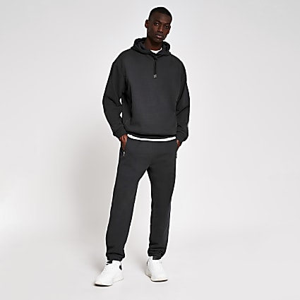 10003° premium washed black joggers
