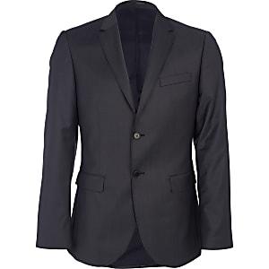 Navy new classic fit suit jacket