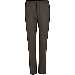 Brown Holloway Road suit trousers