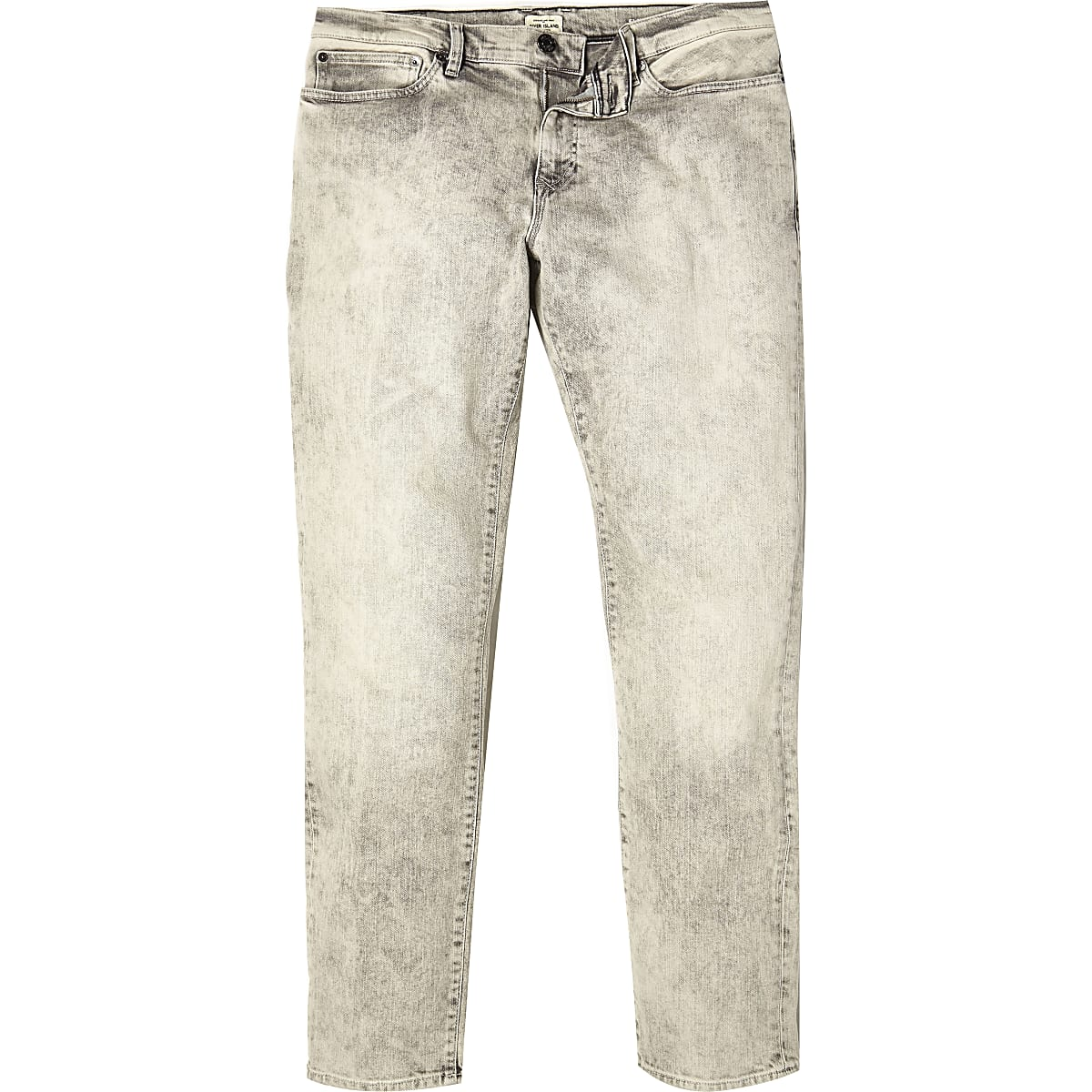 Mottled grey Dylan slim jeans
