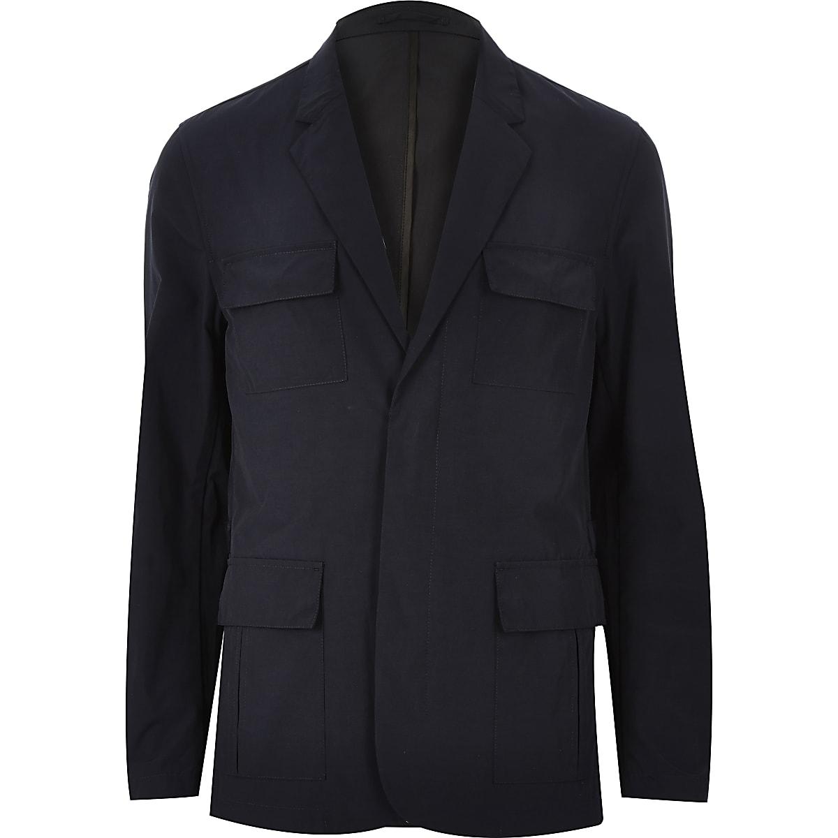 Navy blazer jacket
