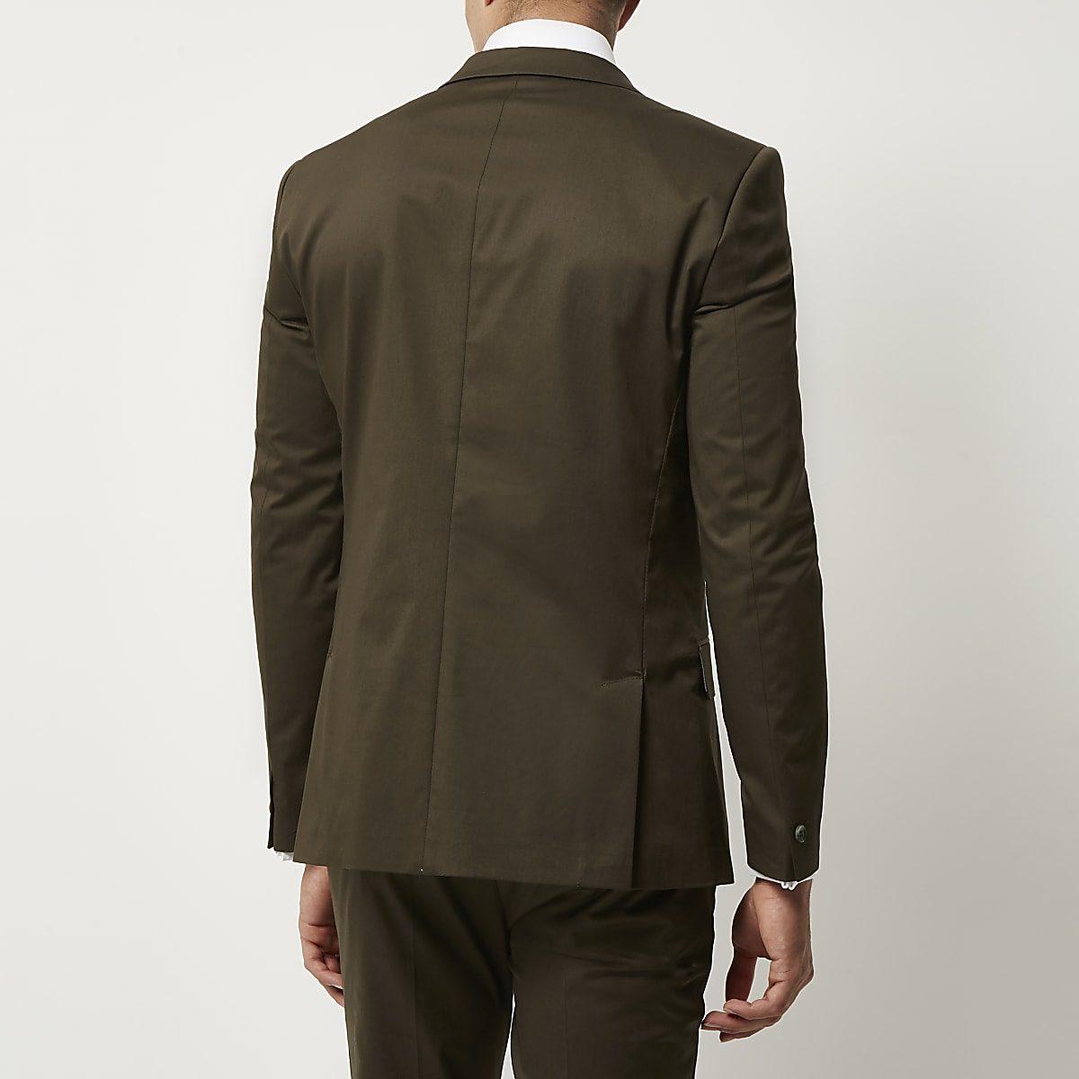 Dark Green Skinny Suit Jacket Suit Jackets Suits Men