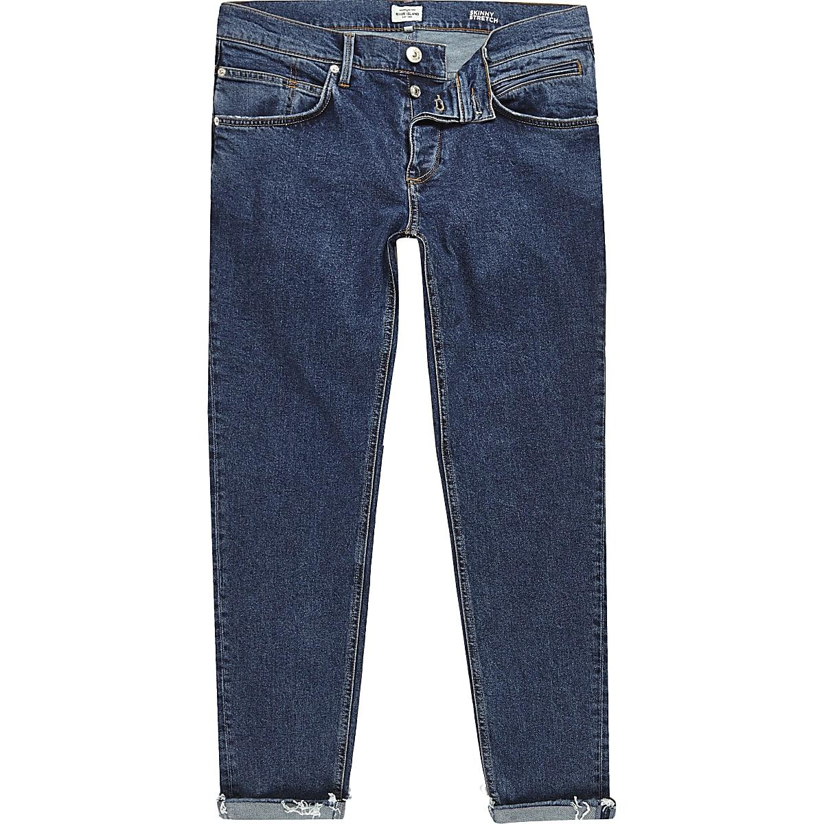 Blue Sid cropped skinny jeans