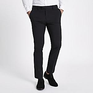 Pantalon de costume skinny noir