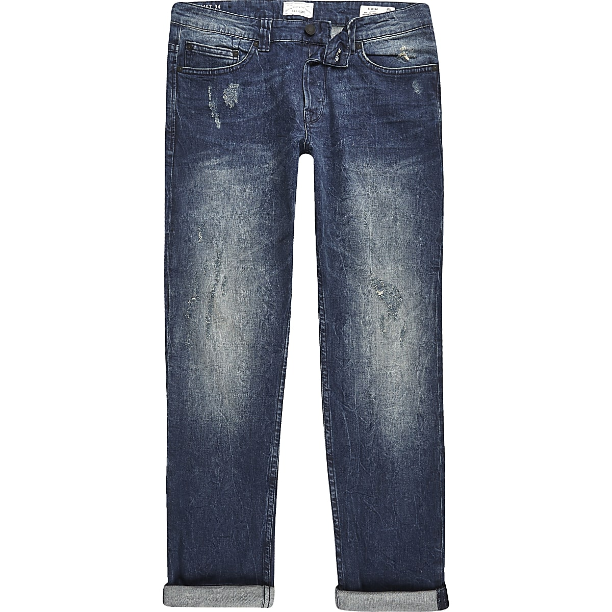 Dark blue Only & Sons skinny fit jeans