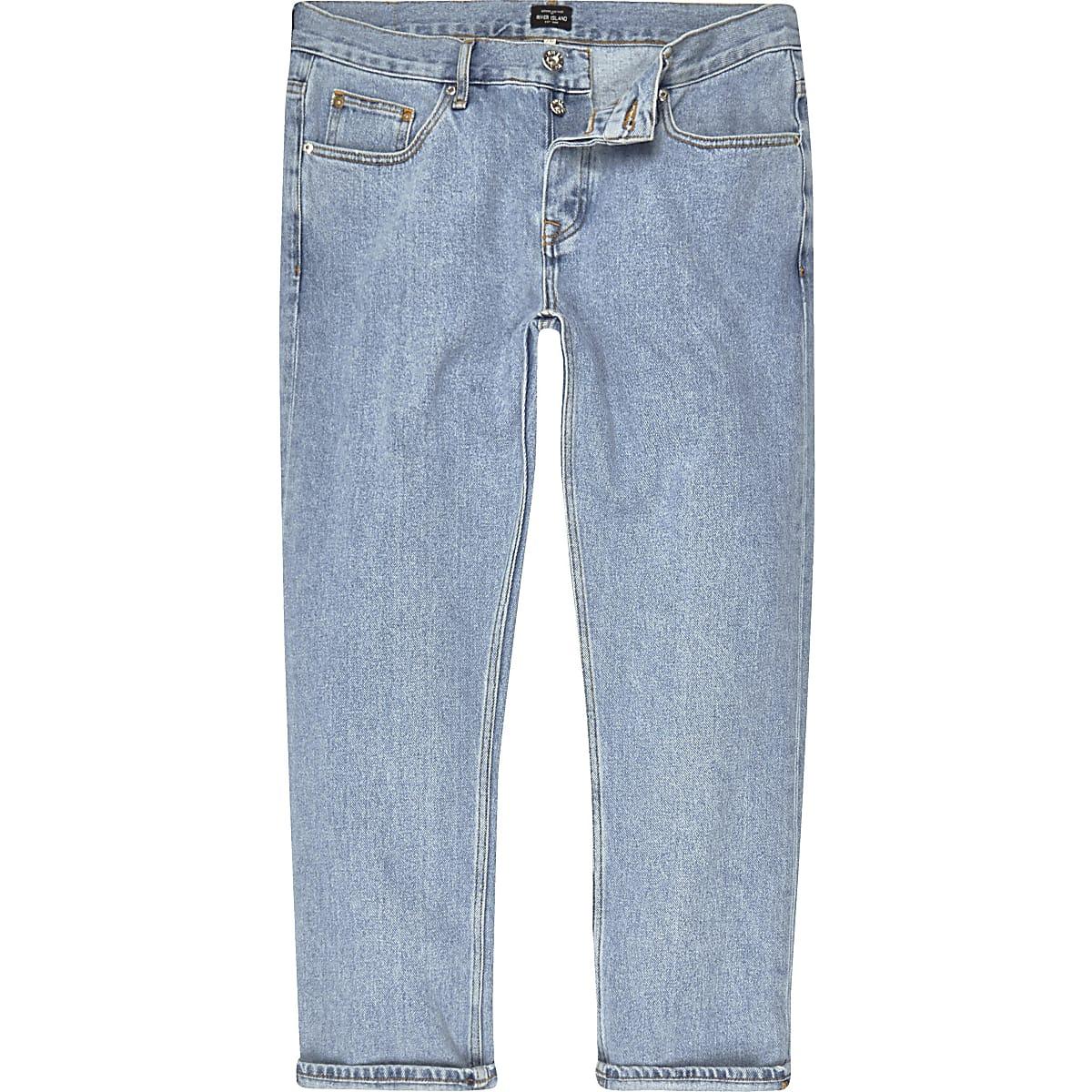 Light blue Cody loose jeans
