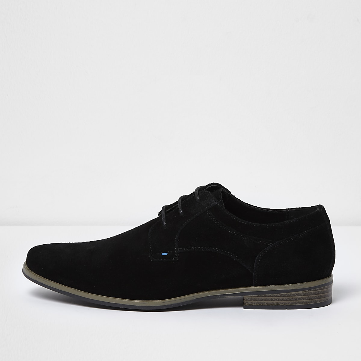 713c694ed9 Black suede derby shoes - Shoes - Shoes   Boots - men