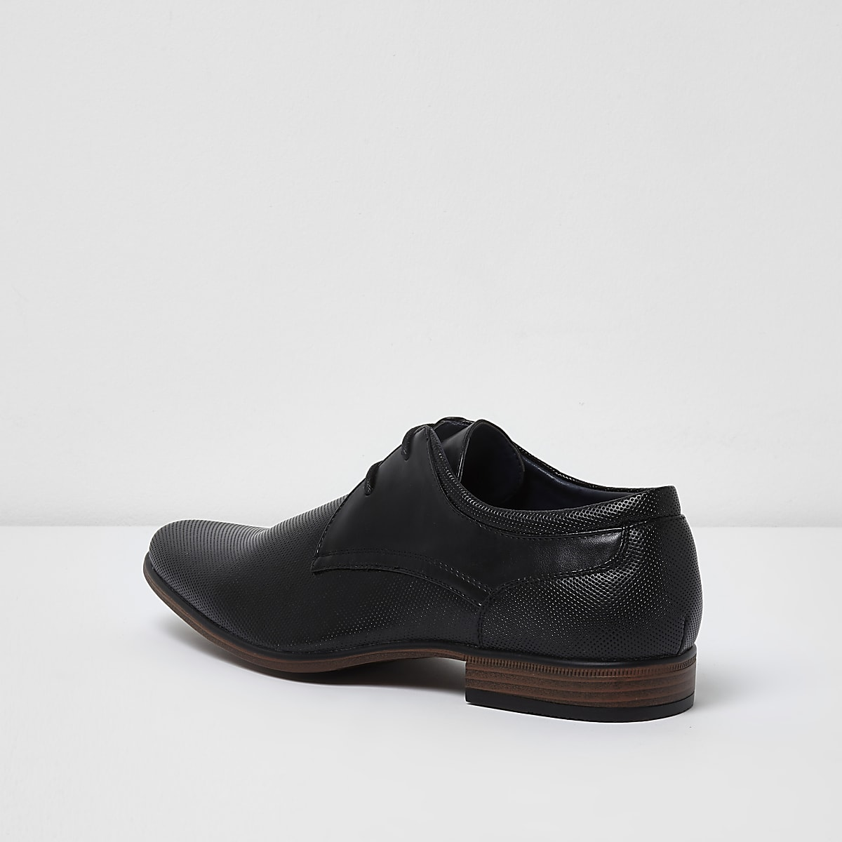 9f5ad563265 Black perforated formal shoes - Shoes - Shoes   Boots - men