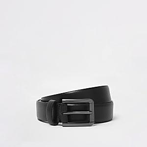 Black smart belt