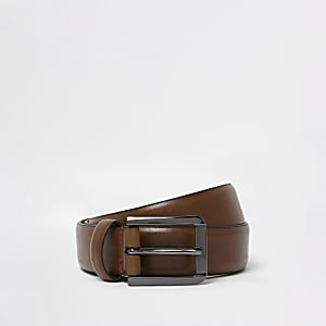 Tan brown smart belt