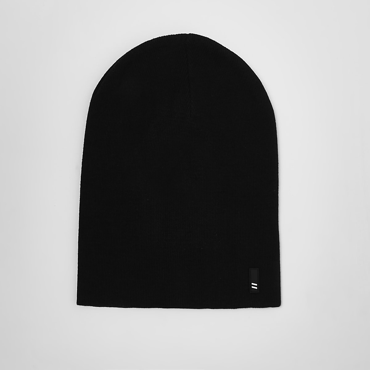 cd0a03d5a00 Black slouchy beanie hat - Hats   Caps - Accessories - men