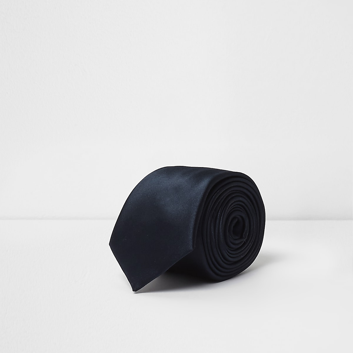 Marineblauwe stropdas