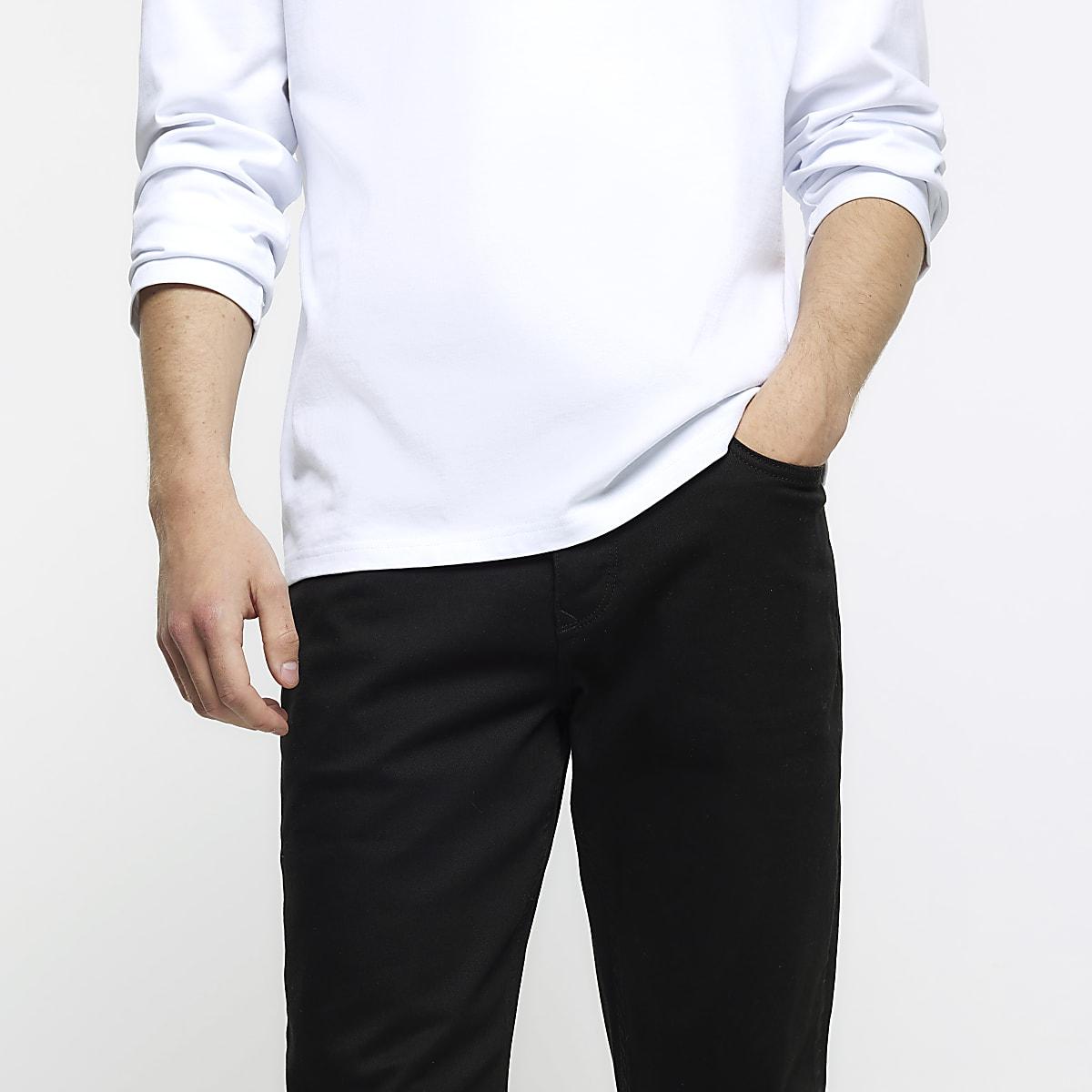 c3e8bd96e Black slim fit Dylan jeans - Slim Jeans - Jeans - men