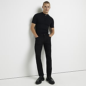 Black slim fit Dylan jeans