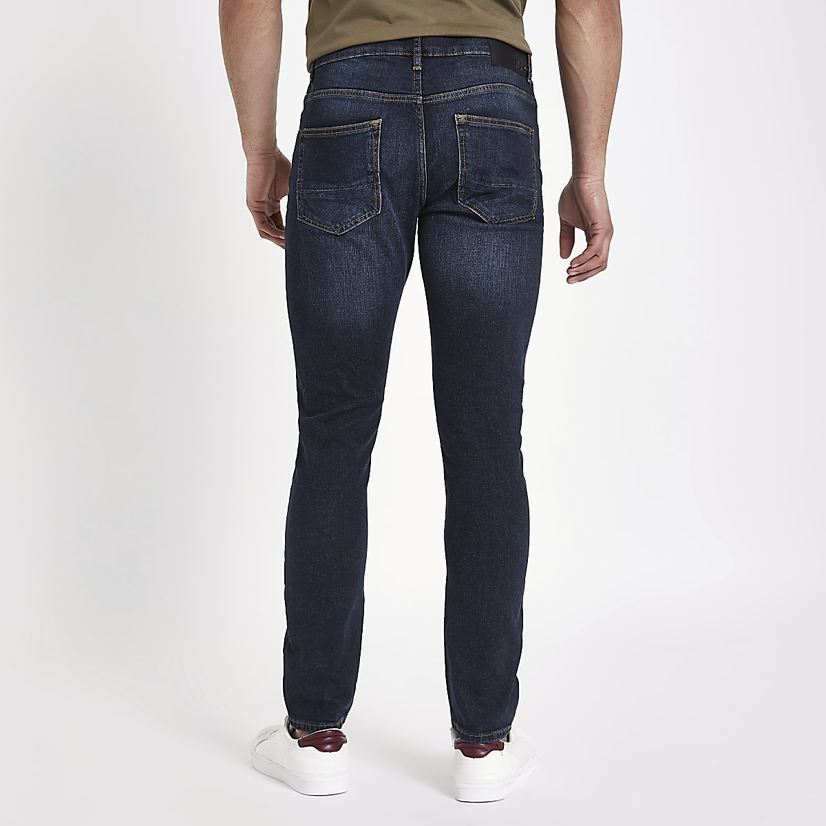 ae762a0c85 Dark blue fade Sid skinny jeans - Skinny Jeans - Jeans - men