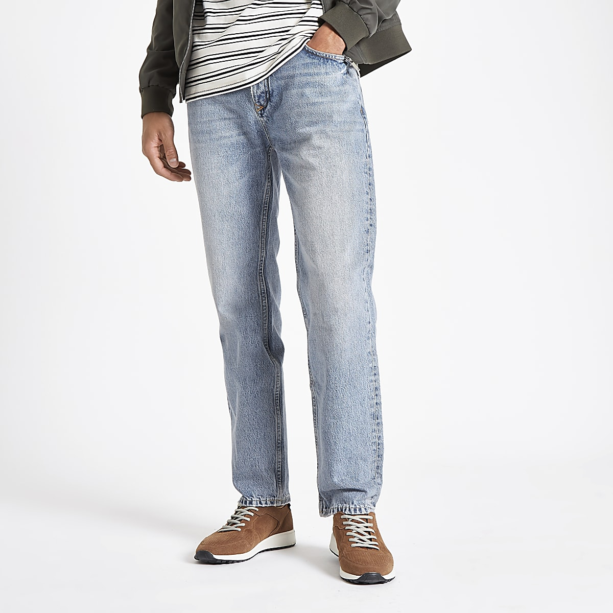 Light blue Dean standard jeans