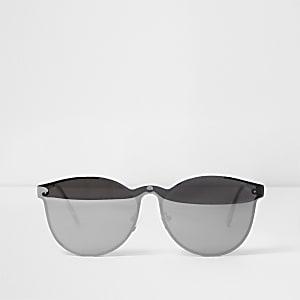 aecfacc3cae Grey over the lens mirror sunglasses