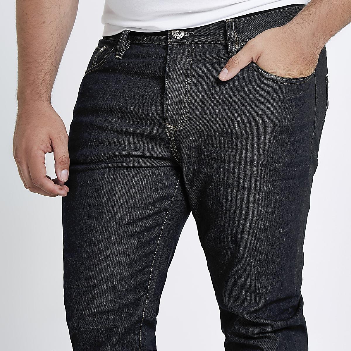 995dd863a4a106 Big and Tall dark blue Seth slim fit jeans - Slim Jeans - Jeans - men