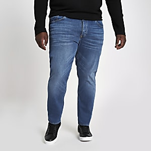Big & Tall – Dylan – Jean slim bleu