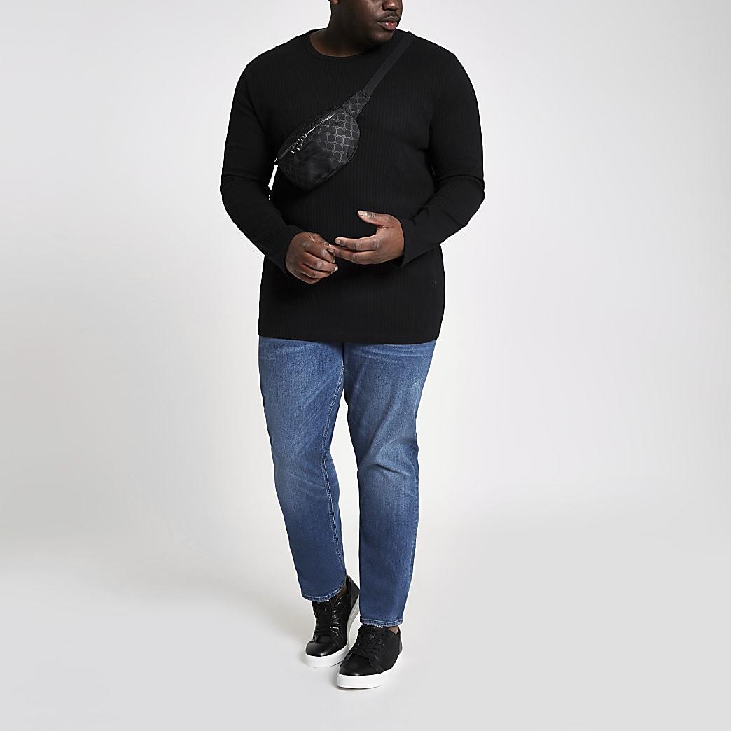 Big & Tall – Dylan – Jean slim bleu