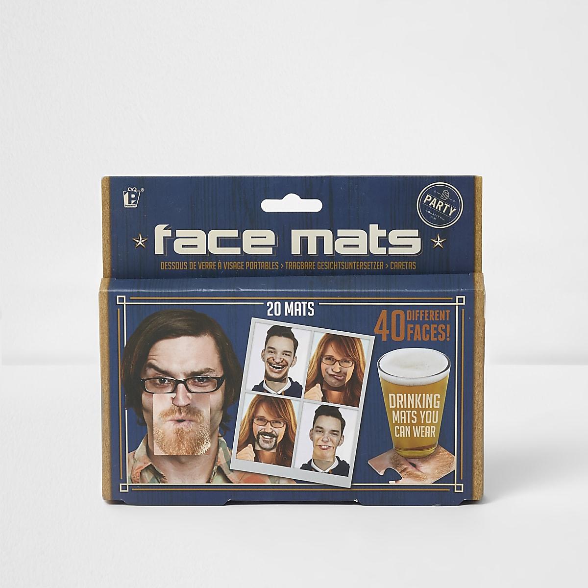 Dessous de verre visages