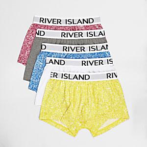 Lot de boxers avec imprimé estival