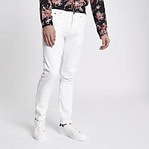 White Sid skinny jeans