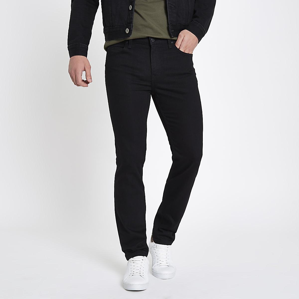 Lee black slim fit Rider jeans