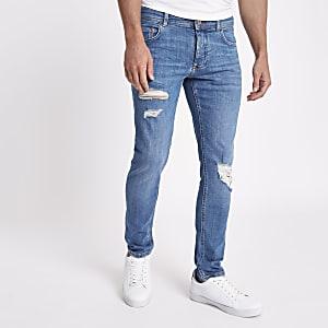 Eddy – Skinny Jeans im Used Look