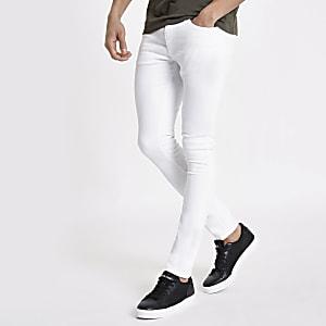 83f1f82d White Danny super skinny stretch jeans