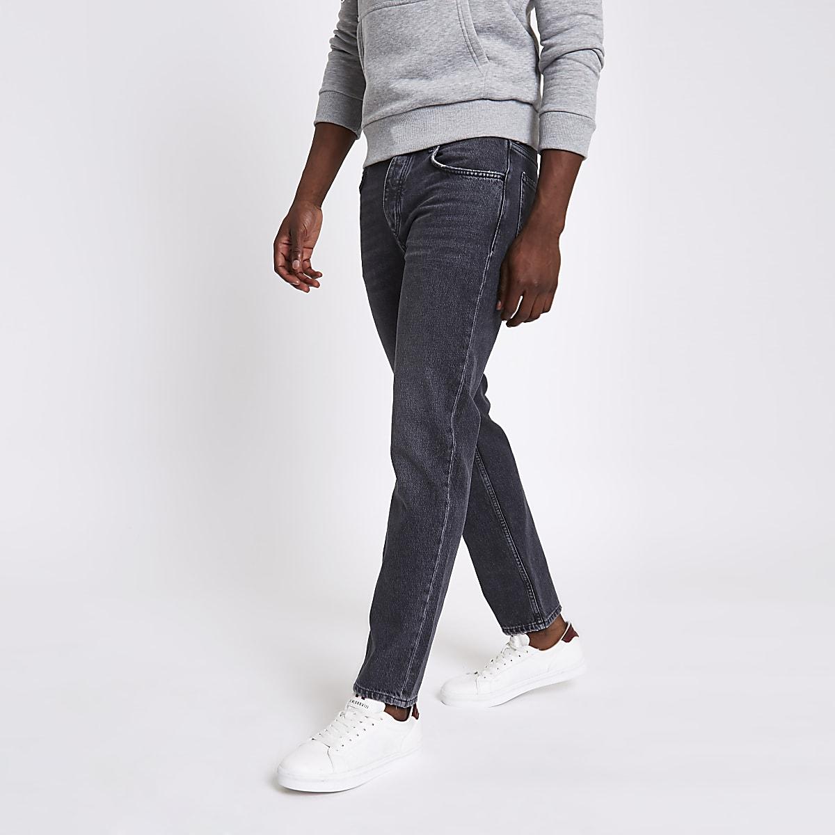 Grey Dean standard jeans