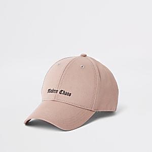 "Pinke Baseballkappe ""modern chaos"""