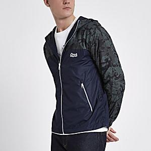 Jack & Jones Originals green camo jacket