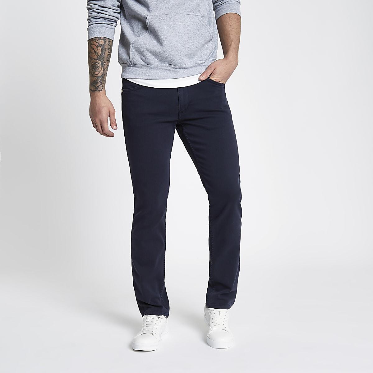 Wrangler dark blue Greensboro jeans