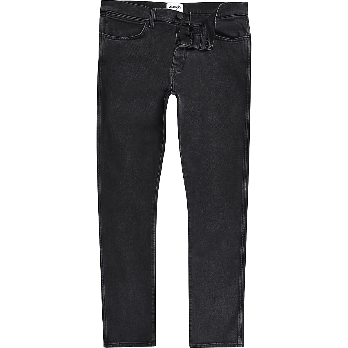 d46db73b1bb Wrangler black Spencer slim fit jeans - Skinny Jeans - Jeans - men