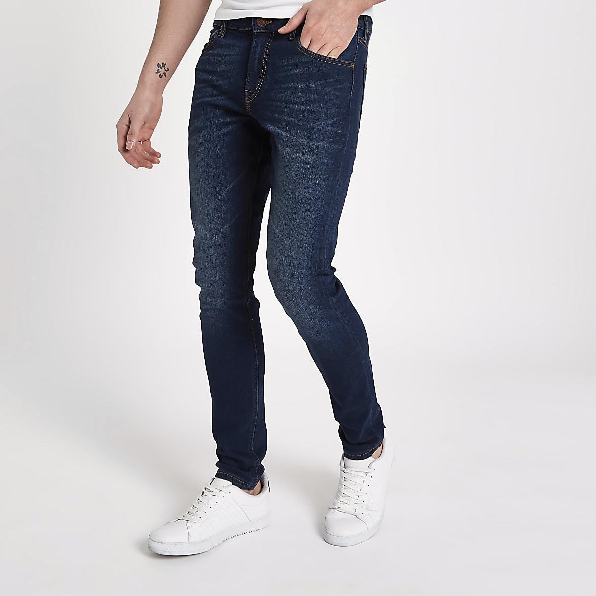 Lee blue stretch skinny fit Malone jeans