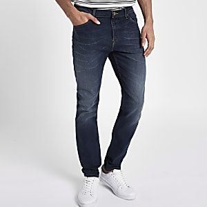 Lee blue Rider slim fit jeans