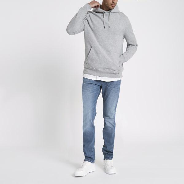 River Island - – rider – blaue slim fit jeans - 4