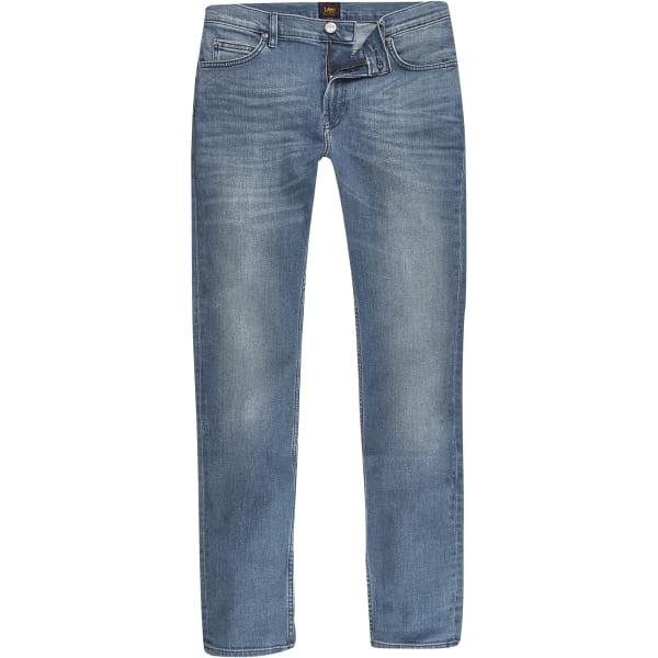 River Island - – rider – blaue slim fit jeans - 5