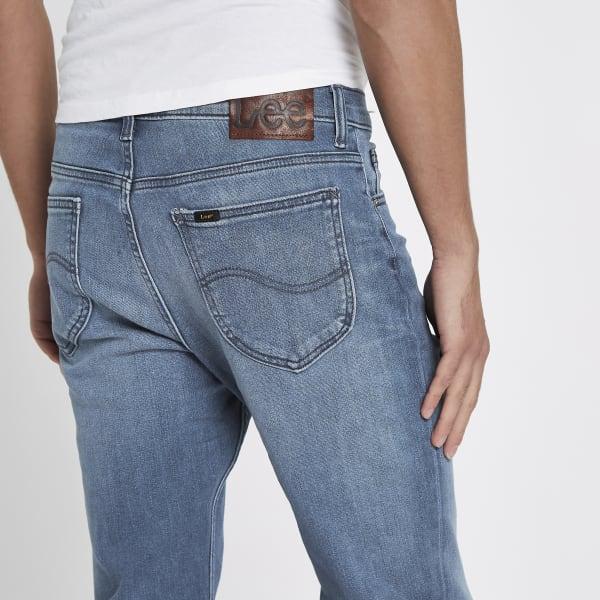 River Island - – rider – blaue slim fit jeans - 3