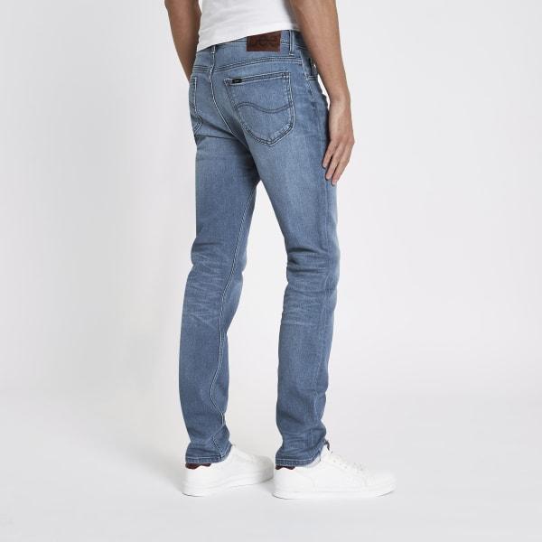 River Island - – rider – blaue slim fit jeans - 2