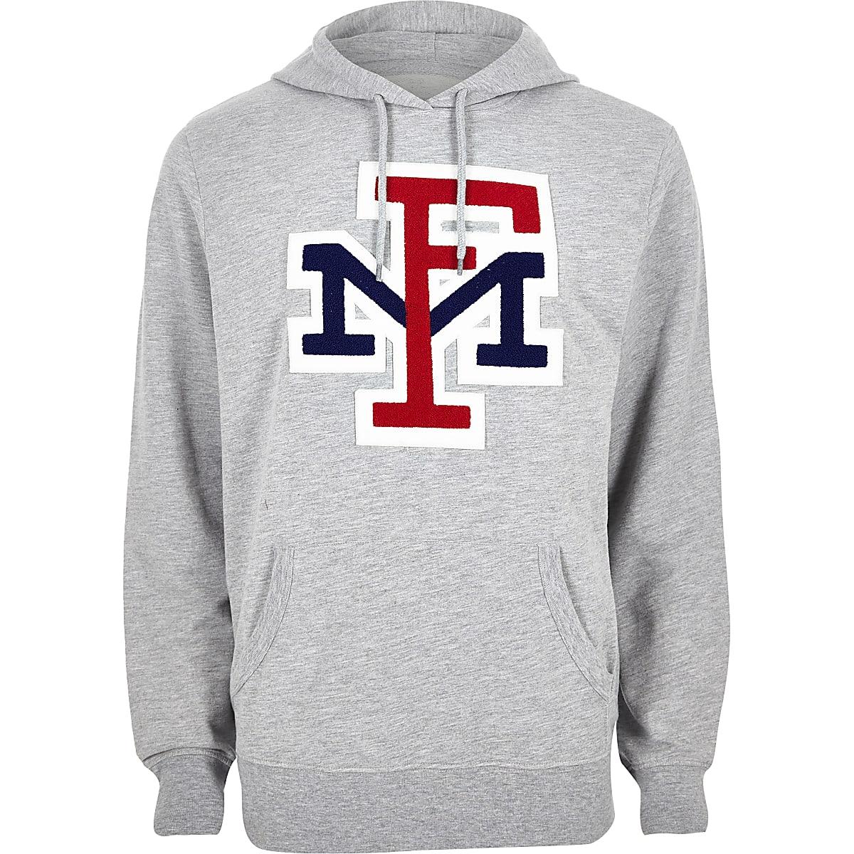 Franklin & Marshall grey hoodie