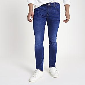 Mid blue fade Eddy skinny jeans
