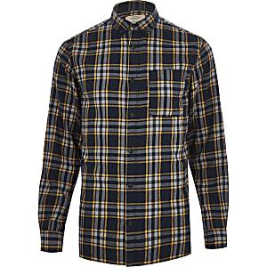 Jack & Jones Originals orange check shirt