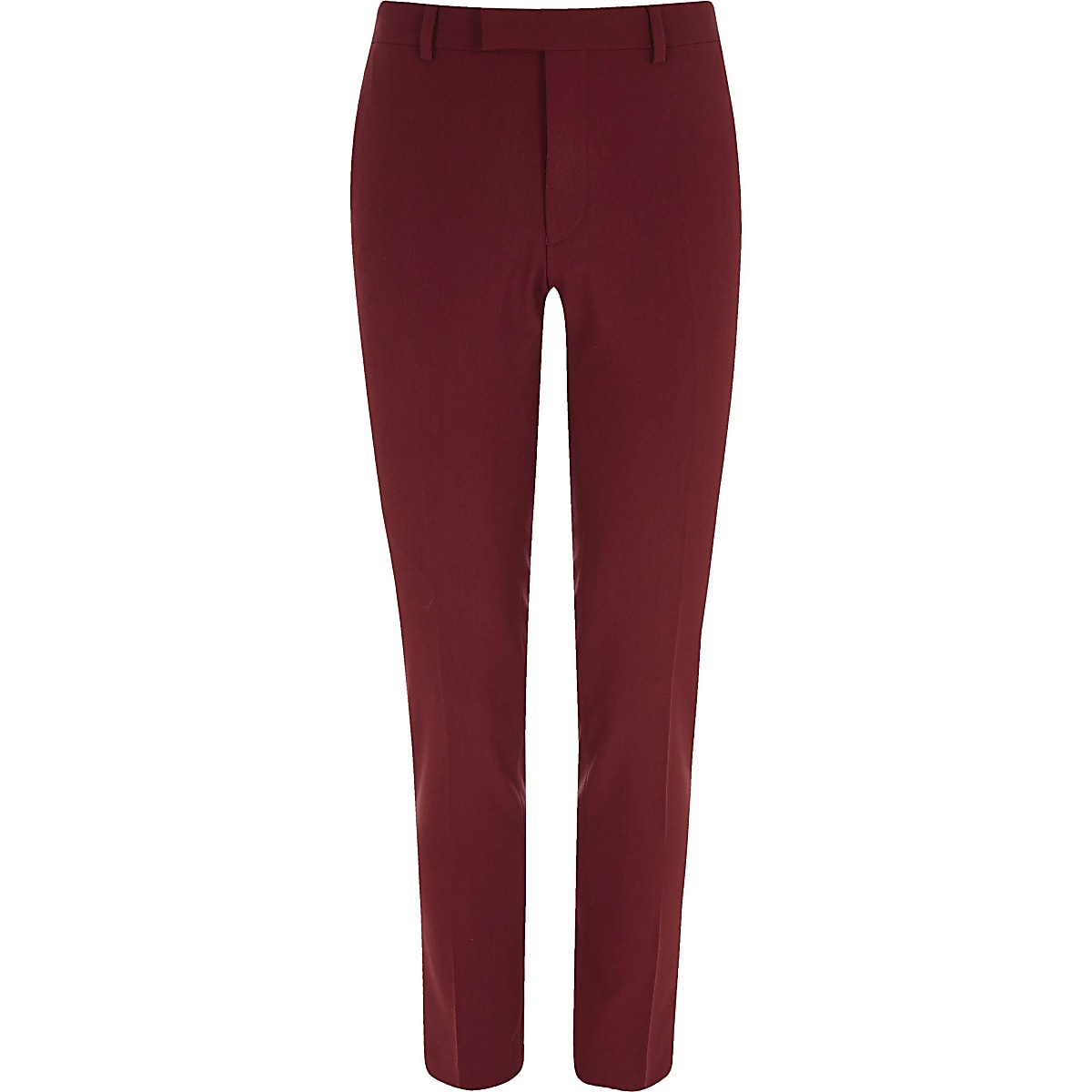 cceedb9c54fa1 Pantalon de costume super skinny rouge - Pantalons de costume ...