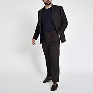 Big & Tall – Slim Fit Anzugjacke in Lila