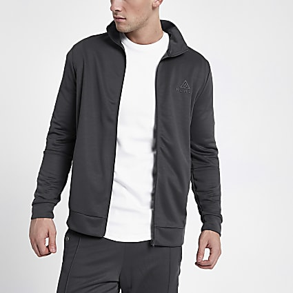 Concept grey tape side jacket