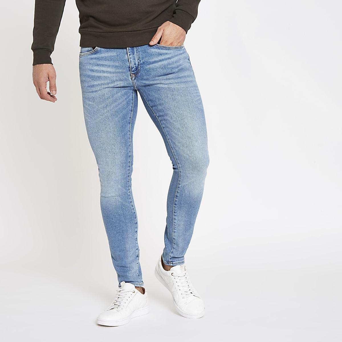 Light blue Danny super skinny fit jeans