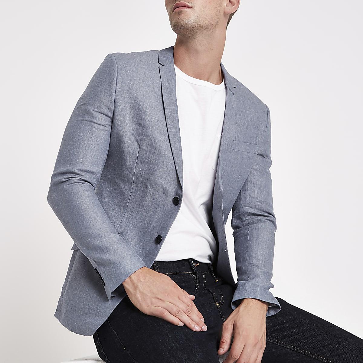 Jack & Jones Premium blue blazer